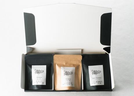 【ティーバッグ】くじらの髭セレクト 緑茶・紅茶・ほうじ茶 3種セット