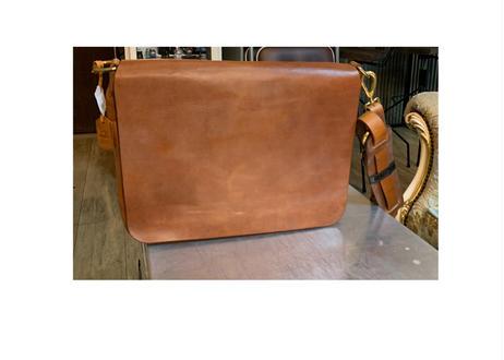 #SH065    Leather Messenger Bag
