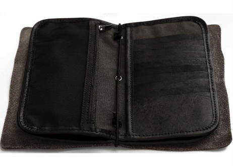 Wallet Clutch 黒