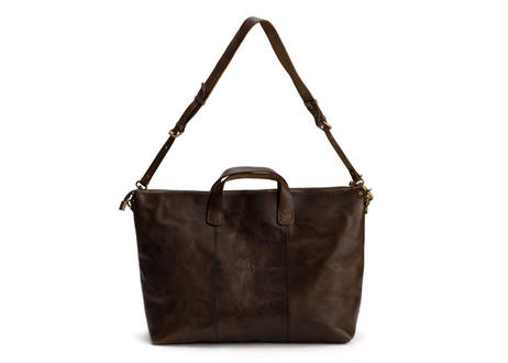 #SH050 Leather Tote ダークブラウン
