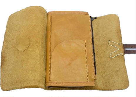 Leather Clutch イエロー
