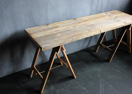 BLA:NC Old wood work table