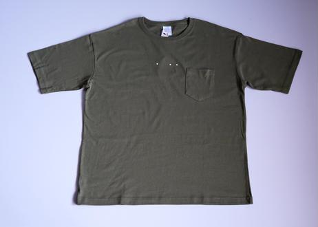 Original t-shirt khaki Lsize 5008-1