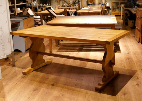 Wide dining table