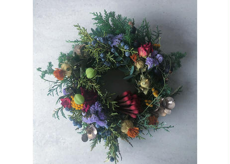 【11/25(wed) delivery】CHRISTMAS WREATH