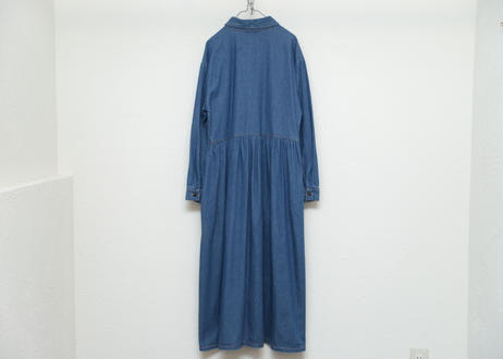 Denim L/S one-piece