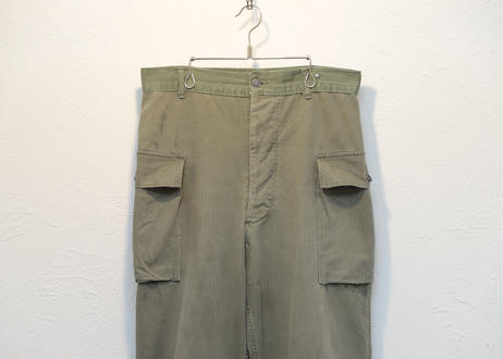 4.50s US ARMY M-43 HBT trousers 13star