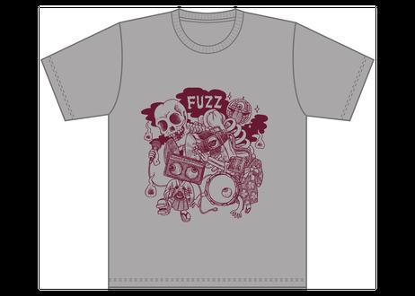 NEW FUZZ  Tシャツ シルバーグレー