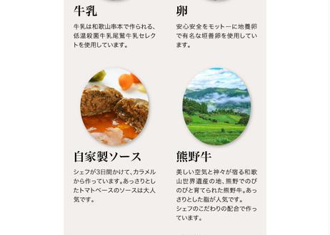 熊野牛ハンバーグシチュー2個セット