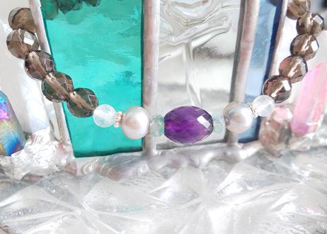 水瓶座 星座守護石ブレスレット