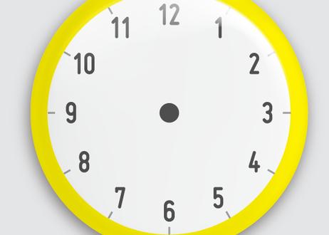 チェキマグ お支度マグネット「時計」