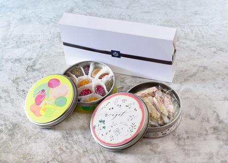 オリジナル缶入りパートドフリュイ&ヌガーセット