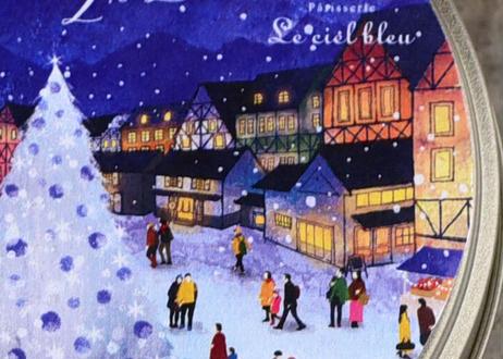 Le ciel bleuオリジナルクリスマス缶2020