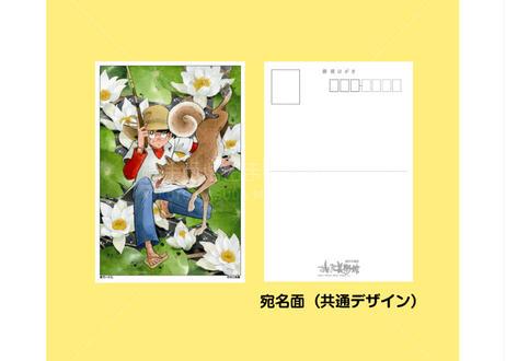釣りキチ三平ポストカード11枚セット(釣犬ハチ公)