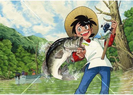 釣りキチ三平B2ポスター 4枚セット