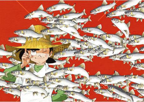 釣りキチ三平B2ポスター 人気4枚セット