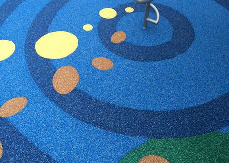ウレタンカラーゴムチップ舗装材 ISO-RUBBER PACK 2㎡施工セットパック★MIX色★(ダイセイ イソラバー)