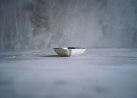 隅入菱形豆皿