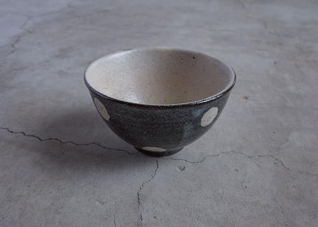 水玉 飯碗 小