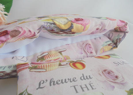 L'heure du THE お茶の時間 ふわふわもこもこマシュマロティーコゼー