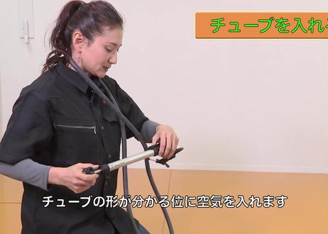 【動画MP4版】R-3通常版 チューブ交換時の注意―ロードバイク、仏式バルブ、クリンチャー