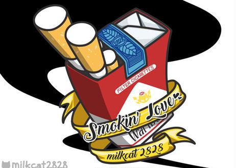 たばこ大好き(赤)