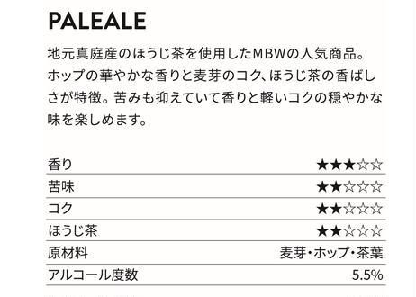 SESSION IPA(セッションIPA)、PALE ALE(ペールエール) MBW2種6本セット