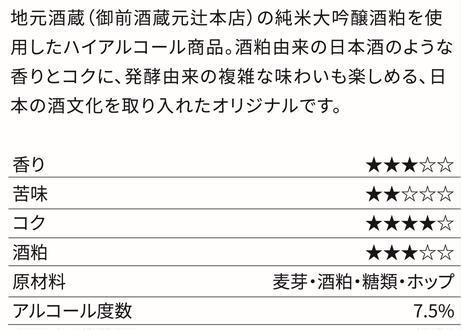 SAKEKASU SPECIAL(酒粕スペシャルエール)6本セット