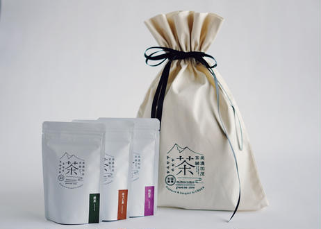 サテンリボン付きオリジナルギフトバッグ(マチあり|複数商品梱包可能/有料)※メッセージカード印字無料対応