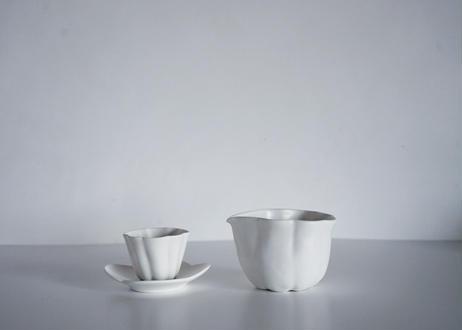 藤村佳澄 / カヌレ茶杯(ホワイト)