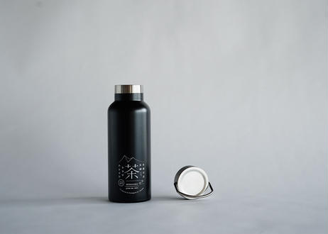ステンレス製オリジナルサーモボトル(ブラック)