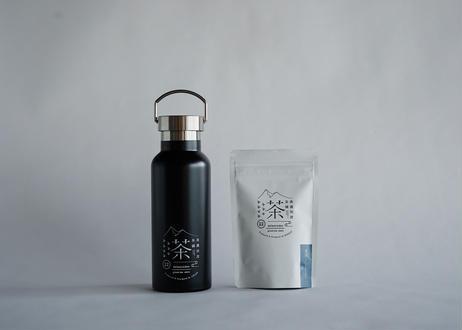 水出し煎茶(ティーバッグ)8個入り+ステンレス製オリジナルサーモボトル|贈り物におすすめ