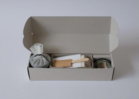 モナカ1箱 (8個入)【抹茶餡、大納言、炒り玄米】