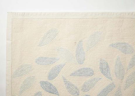 ラグマット aoi tori(ブルー/140×200cm)
