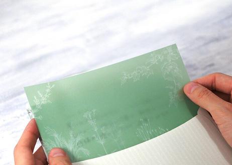 山野草のボタニカルレターセット*004