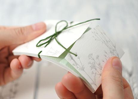 山野草のメッセージカード*004