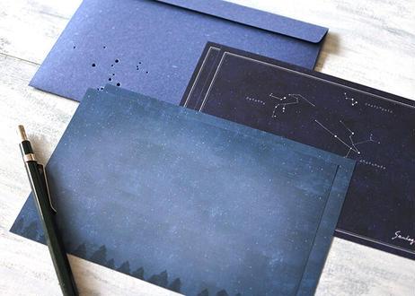 アンドロメダにまつわる星座たちのレターセット