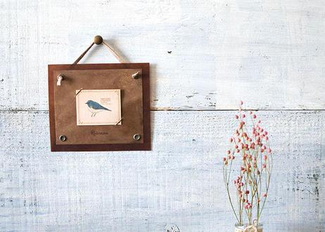 野鳥の小さな図鑑風インテリア