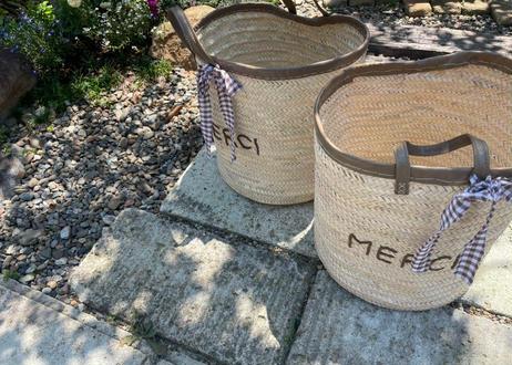 MERCI Basket  chocolate milk❤︎
