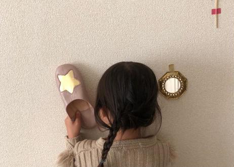 Kidsお星様のバブーシュMサイズ(〜18cmまで)