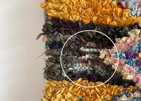 ボシャルウィットラグ 【A5】125cm × 180cm