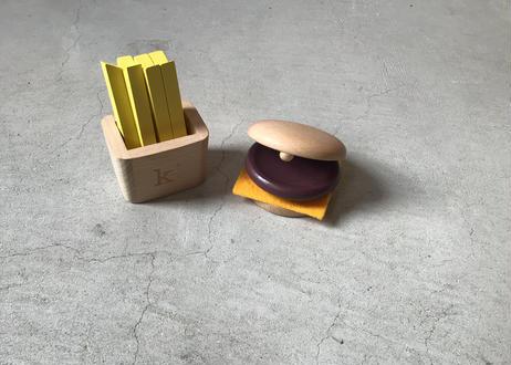 hamburger set   ハンバーガーセット(kiko & gg )
