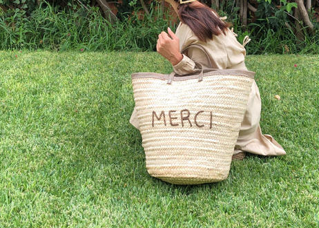 【予約販売〜4月下旬発送】MERCI❤︎Basket chocolate milk❤︎