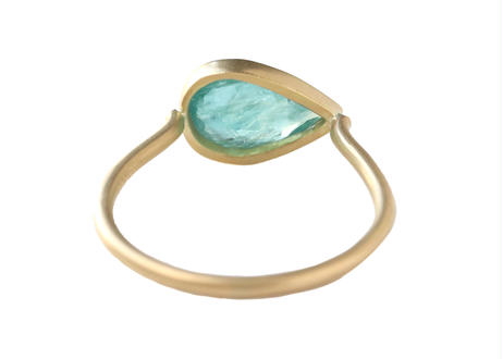 Grandidierite Pear-shaped  Ring