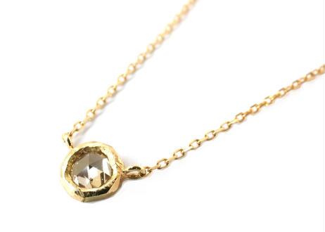 W Cut Diamond Necklace