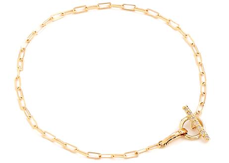 Mantel Bar Diamond Bracelet