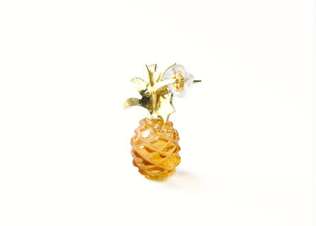 Pineapple stud Pierced Earring