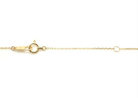 Natural Diamond Rough Collet Mini Necklace