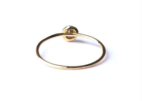 W Cut Diamond Ring