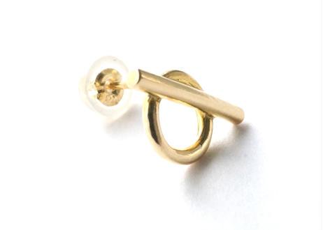 Matel Pierced Earring